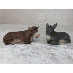 Ochse und Esel 5 cm