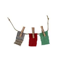 Wäscheleine für den Basar 14 cm
