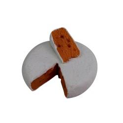 Laib Käse mit Scheibe 3,5 cm