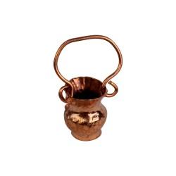 Kupferkanne mit Griff 3 cm