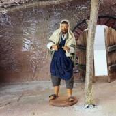 Krippenfiguren Tischler, Silberschmied, Handwerker 14/16cm