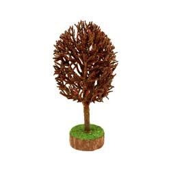 Baum natur rot