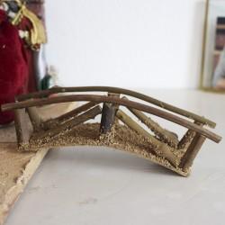 Holzbrücke klein