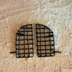 Fenstergitter rund aus Metall 4 cm