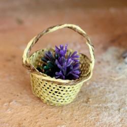 Korb mit Lavendel