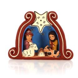 Krippe aus Keramik Estrella  Weihnachtsdeko