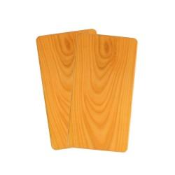 Frühstücksbrett aus Holz 2er Set Kirsche
