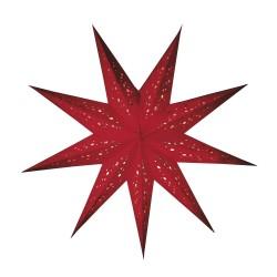 """Papierstern, Weihnachtsstern """"baby spumante rot"""" S"""