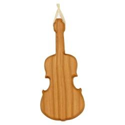 Geige Baumschmuck aus Holz