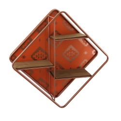 Kasbah Shelf - Small regal orange