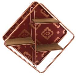 Kasbah Shelf - Small regal braun