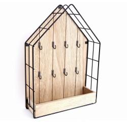 Schlüsselbrett aus Holz Haus