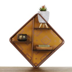 Kasbah Shelf - Small regal braun