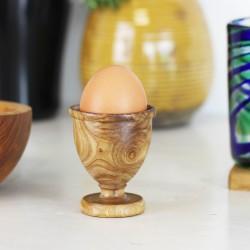 Eierbecher Elegant aus Olivenholz