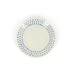 Kuchenteller aus Keramik Drops