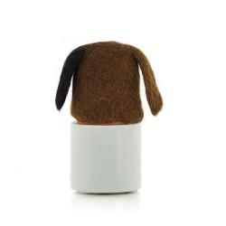 Eierwärmer Tiermotiv Hund aus Filz