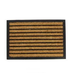 Fußmatte Streifen aus Kokosfaser
