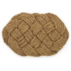 Fußmatte Bretzel aus Kokosfaser