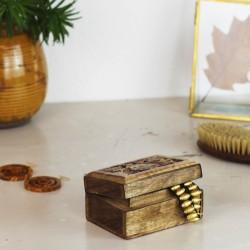 Schmuckkästchen aus Nussbaumholz Chiko