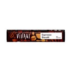 Bio Schokoladenriegel Espresso Biscotti