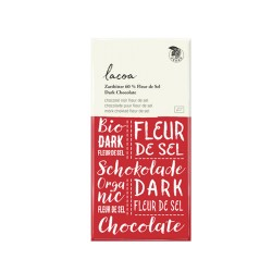 Bio Schokolade 60% Zartbitter Lacoa Fleur de Sel