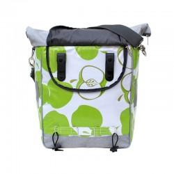 Fahrradtasche Manzanas grün| Einzelfahrradtasche