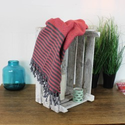 Handtuch Fouta lachs Farbe