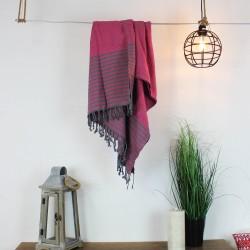Handtuch Fouta pink