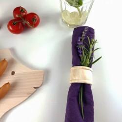 Serviettenring aus Holz 4,5 cm, Serviettenhalter