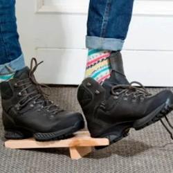 Stiefelknecht Ausziehhilfe aus Holz
