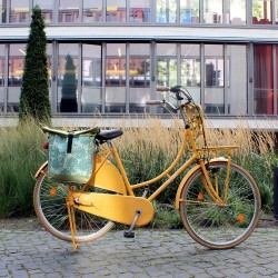 Fahrradtasche, Einzeltasche Monstera
