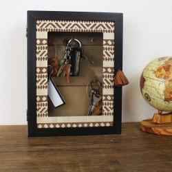 Schlüsselkasten aus Holz 'Africa'