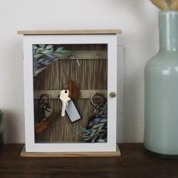 Schlüsselkasten aus Holz 'Olivenbaum'