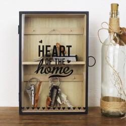 Schlüsselkasten aus Holz 'Home'