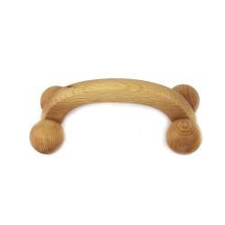 Massageroller 4 Kugel aus Holz