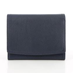 Geldbörse aus Leder blau Jamie