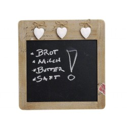 Memotafel aus Holz