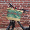 Fahrradkorb Amsterdam grün/orange