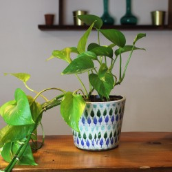 Blumentopf aus Keramik Ramas