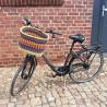 Fahrradkorb Amsterdam orange/olive/blau