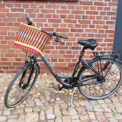 Fahrradkorb Amsterdam bunt, Unikat