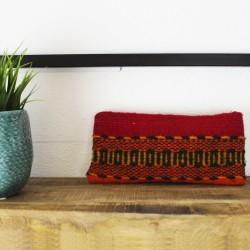 Handtasche aus Wolle und Natur Farben Mexico Unikat