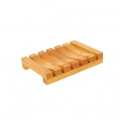 Seifenschale aus Kirschholz geölt 11,5 cm