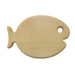 Frühstücksbrett Fisch aus Holz