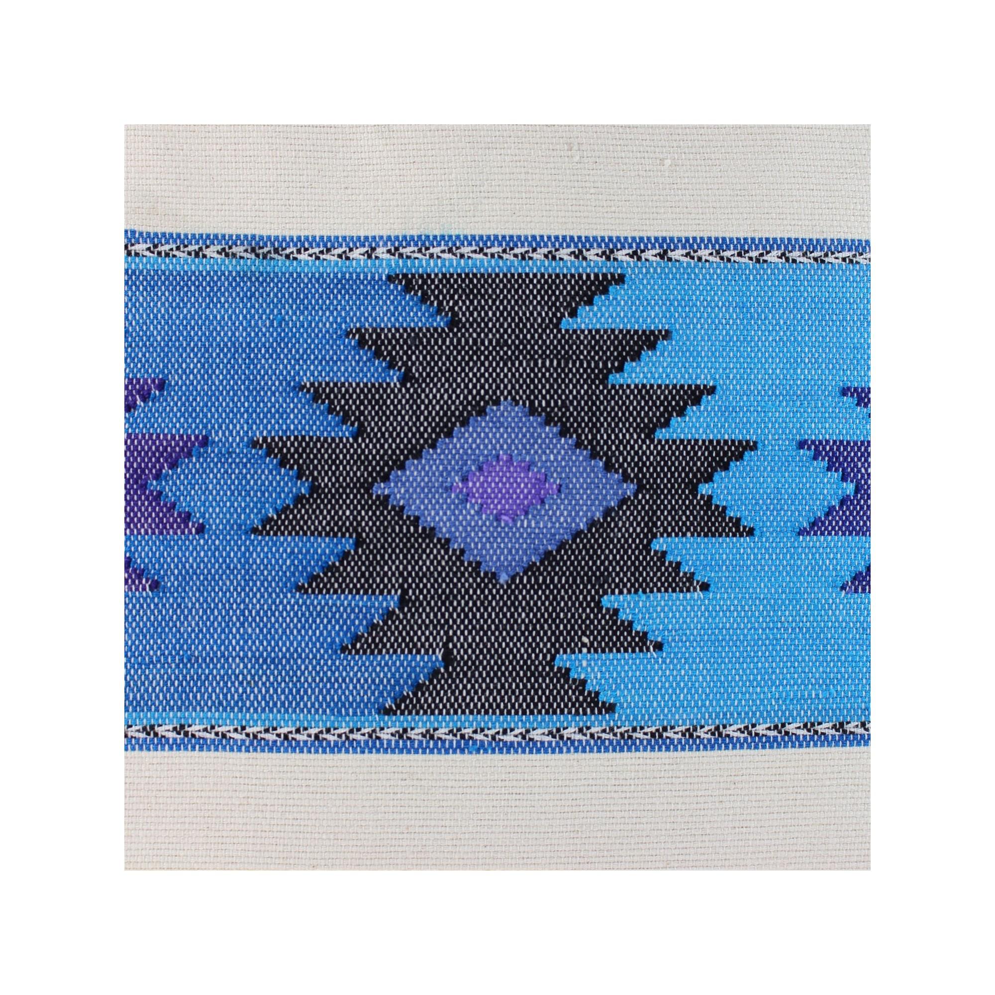 sofakissen grecas blau einseitig deko kissen 40 x 40 kaufen. Black Bedroom Furniture Sets. Home Design Ideas