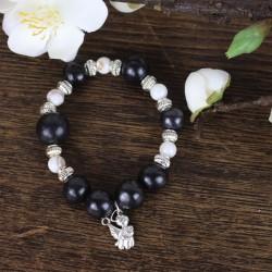 Perlenarmband Bolitas mit Engelchen