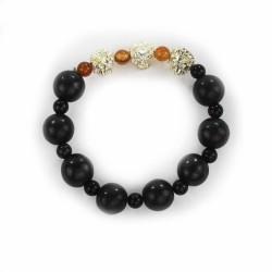 Perlenarmband Bolitas mit Löwe