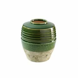 Deko Vase Kugelig aus Keramik