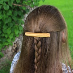 Haarspange aus Olivenholz Lucy