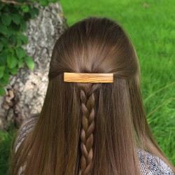 Haarspange aus Olivenholz Mila